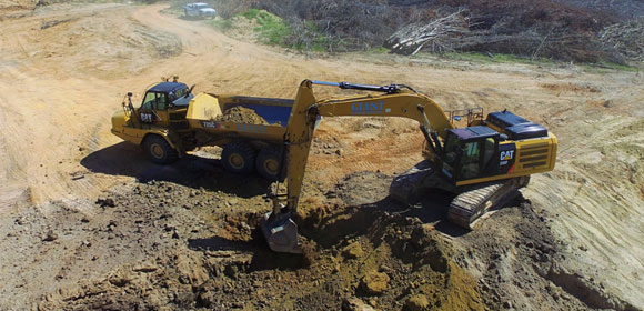 commercial site excavation Raleigh