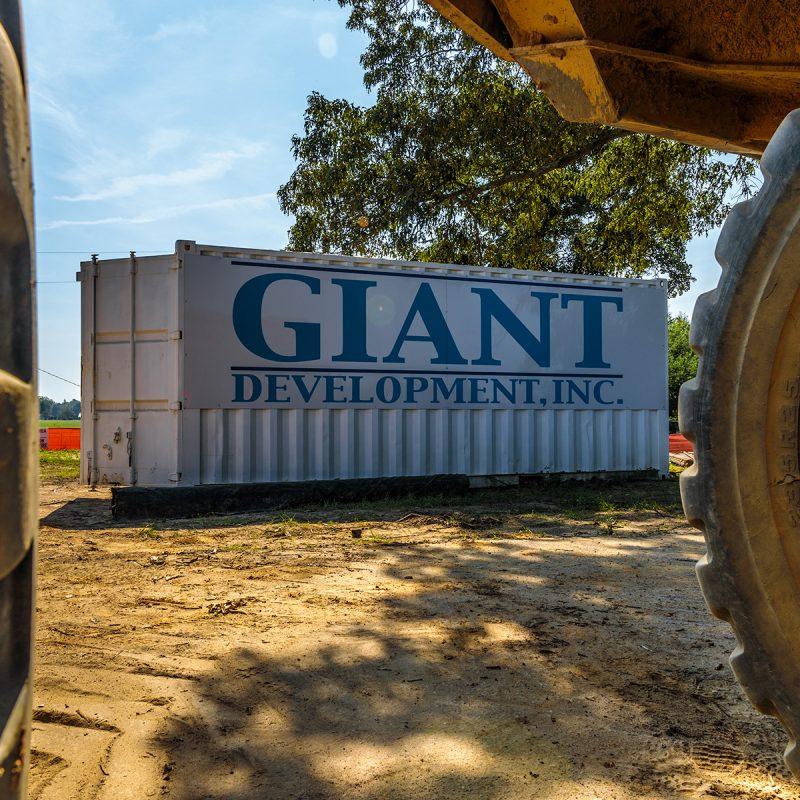 giant development conex box