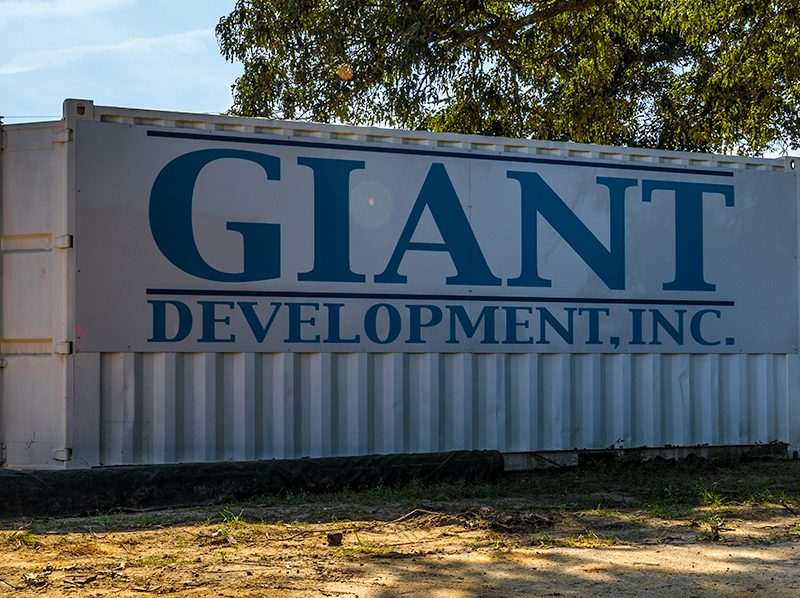 giant development conex box