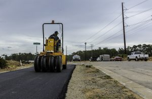 road paving and sidewalk pouring in Wake Forest