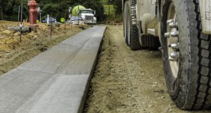 Asphalt and concrete in Holly Springs