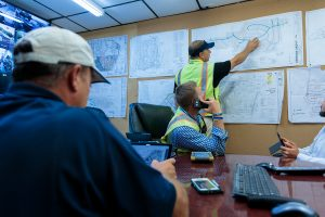 Holly Springs water and sewer construction