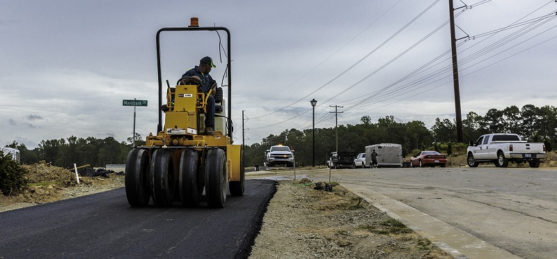 Willow Springs Subdivision paving