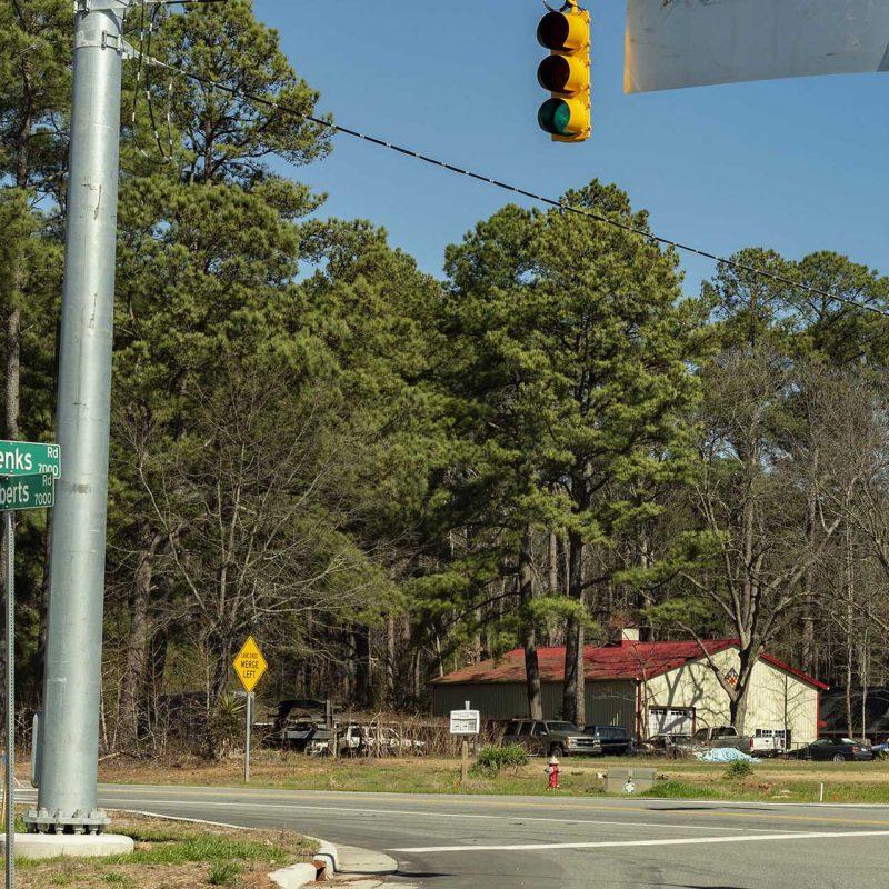 Jenks-Roberts-Road-Signal-Prject-Apex-NC